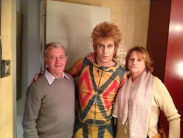 Arturo y los padres de Diges