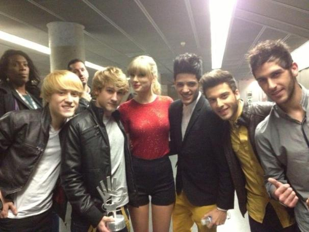 Auryn y Taylor Swift