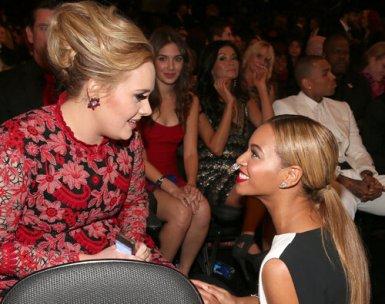 Adele y beyonce