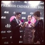 Thalia con Nando y Tania