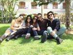 India, Vanesa, Malu, Pablo y Manu