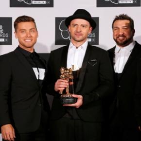 Justin Timberlake triunfa en los MTVVMA's