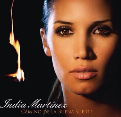 India MArtinez Disco Portada