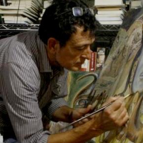 Manolo García expone sus pinturas y fotografías enBarcelona