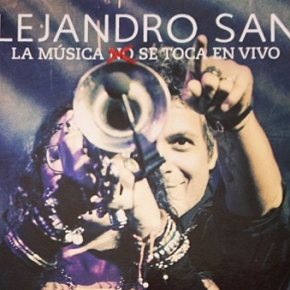 Alejandro Sanz publica el CD+DVD de 'La Música No Se Toca (EnVivo)'
